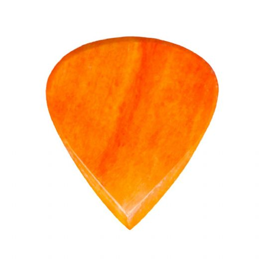 Jazzy Tones Orange Bone 1 Guitar Pick